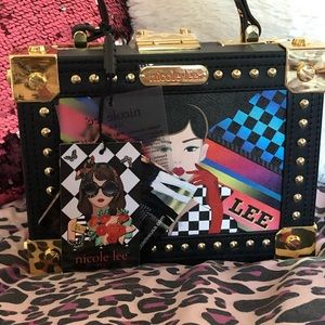 Nicole Lee box purse